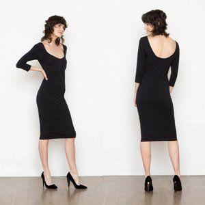 Santicler Diana Organic Cotton Ballet Neck Dress